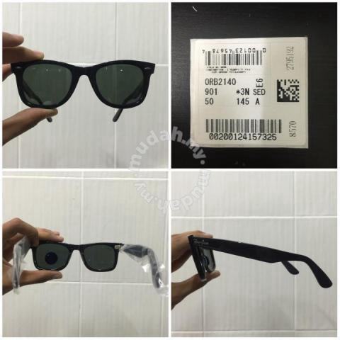 RayBan Original Wayfarer black euro fit RB2140 - Watches   Fashion  Accessories for sale in Others a242290f44