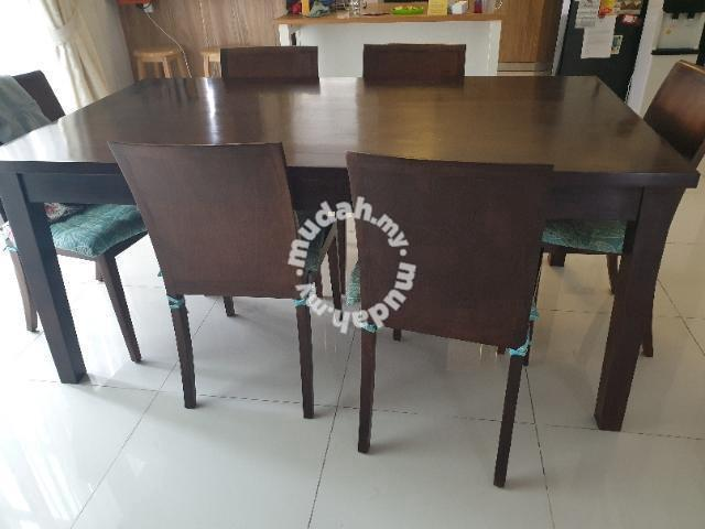 Mahogany Dinning Table Plus 8 Chairs Furniture Decoration For Sale In Valencia Selangor Mudah My