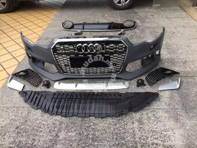 audi a6 c7 rs6 bodykit conversion car accessories. Black Bedroom Furniture Sets. Home Design Ideas