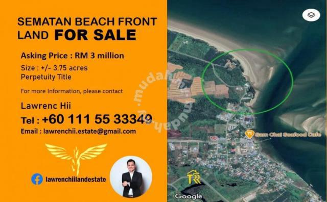 SEMATAN BEACH FRONT Land FOR SALE