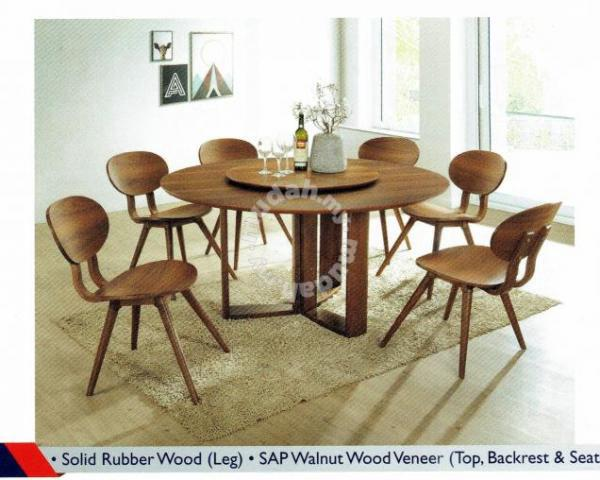 Stupendous Wooden 5 Feet Round Dining Table Only Furniture Decoration For Sale In Kuching Sarawak Download Free Architecture Designs Scobabritishbridgeorg