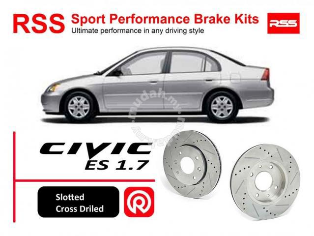 Civic ES 1 7 2 0 RSS Sport Disc Akebono Brake Pad - Car Accessories & Parts  for sale in Petaling Jaya, Selangor