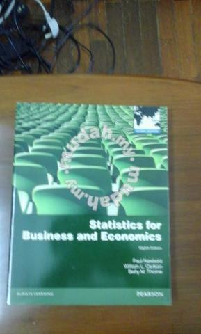 Statistics for business and economics - Textbooks for sale in Ampang,  Selangor