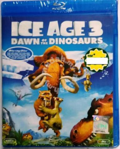 blu-ray ice age 3 dawn of the dinosaurs - music/movies
