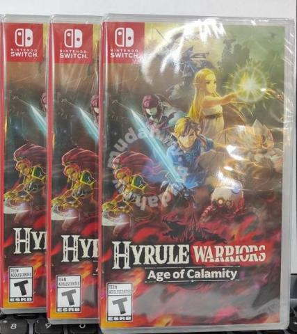 New Nintendo Game Hyrule Warriors Age Of Calamity Games Consoles For Sale In Others Perak Mudah My