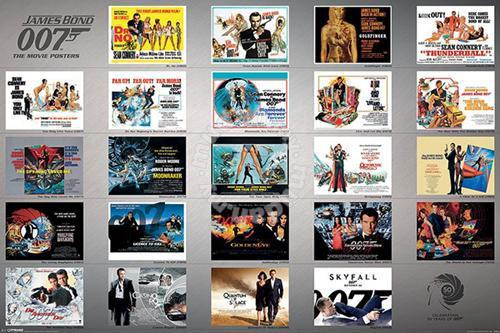 aa036f21e872 Poster JAMES BOND 50 YEARS - Hobby   Collectibles for sale in Cheras ...