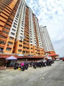 (city view) blok f- apartment flora damansara, pj