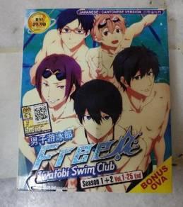 Anime DVD - FREE (season 1+2 ) vol 1-25 end