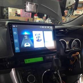 Toyota wish 2014 2018 android player ips dsp 4gb