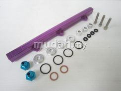 Mitsubishi 4G63 Evo 1 2 3 Racing Fuel Rail Kit Set