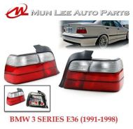 BMW E36 3 Series Sedan Rear Tail Lamp Set