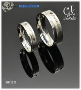 Stainless steel couple ring (per pair) SSR 1122