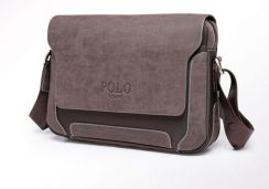 POLO Me Genuine Leather Shoulder Bag Men