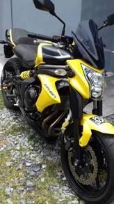Kawasaki er6n tahun pendaftaran 2012