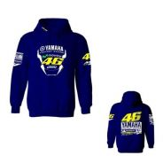 Motorcycle 46 Rossi sweater jacket Hoodie - Blue