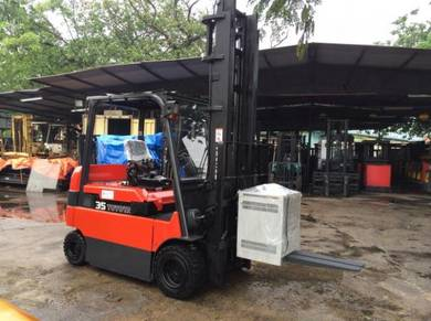 JAPAN Imported TOYOTA 3.5 ton ELECTRIC FORKLIFT