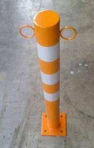 Traffic Metal bollard/penghalang besi