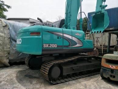 Kobelco sk200.8