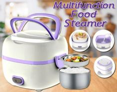 Multifunctional food steamer