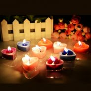Love Shape Romantic Scented Candles (5in1)
