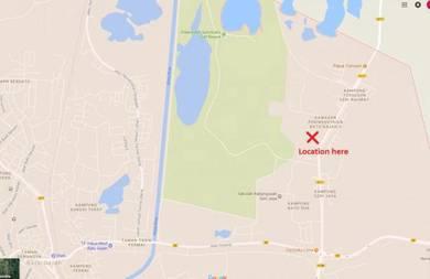 Batu Gajah land for sale, 10km from Ipoh, facing main road
