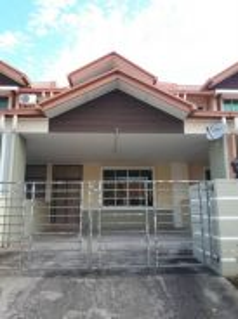 Taman bukit sepanggar 2 storey terrace house