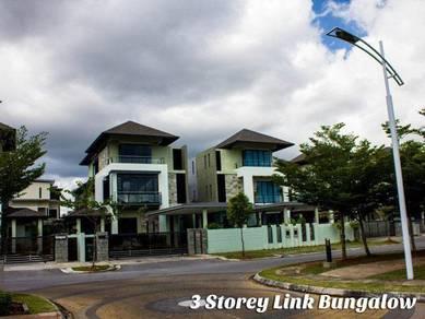 3 storey Imperiale Residences Detached, Vivacity Tabuan Jaya
