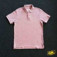 T-Shirt Uniqlo Muscle Fit Collar Polo Shirt