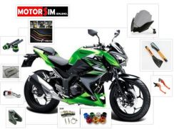 Z250 Green Extra Accessories