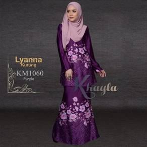 Kurung moden purple 1060 saiz 36 - 55