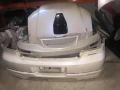 Mitsubishi Airtrek Turbo Ralliart rear bumper