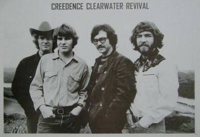 Poster Credence Clearwater Revival (CCR) Rock V 1