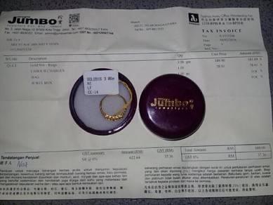 Cincin emas sampoa 916