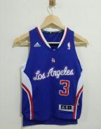 LA Clippers Chris Paul (3) Adidas Red Jersey