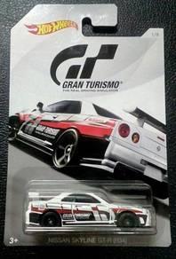 Hotwheels GRAN TURISMO Nissan Skyline GT-R R34