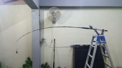 Miya epoch boat fishing electric reel rod