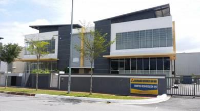 Semtec Technology Park Semenyih, 2 Storeys Corner Semi-D Factory