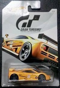 Hotwheels GRAN TURISMO McLAREN F1 GTR