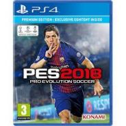 PES 18 Pro Evolution Soccer 2018 [PS4]
