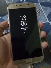 Samsung A7 2017 Gold 32gb Dual 4g Lte