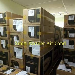 1hp new aircond air cond york*promosi 899
