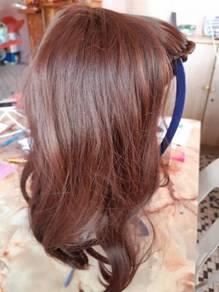 Real hair wig