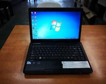 Toshiba C640 notebook