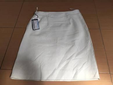 Prada leather skirt original new with tag