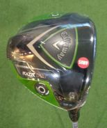 New Callaway RAZR FIT Driver 9.5* S-flex RH