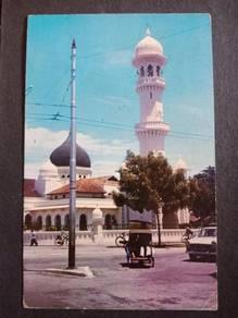 Postcard Mosque Penang No 2763