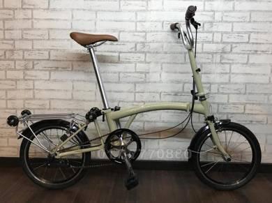 3sixty chromoly folding bike 3SP internal bicycle