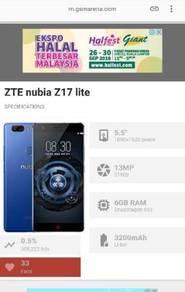 ZTE Nubia Z17 Lite (Free Tempered Glass & Casing)