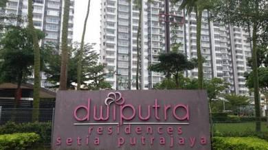 Dwiputra Residence Putrajaya Presint 15 Corner Unit KLCC View Fully