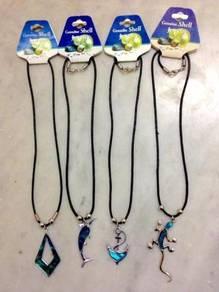 Paua Sea Shell Pendants - Selection